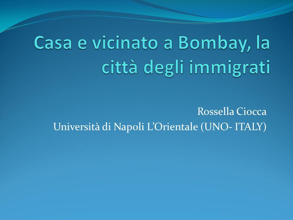 Rossella Ciocca Università di Napoli L'Orientale (UNO- ITALY)