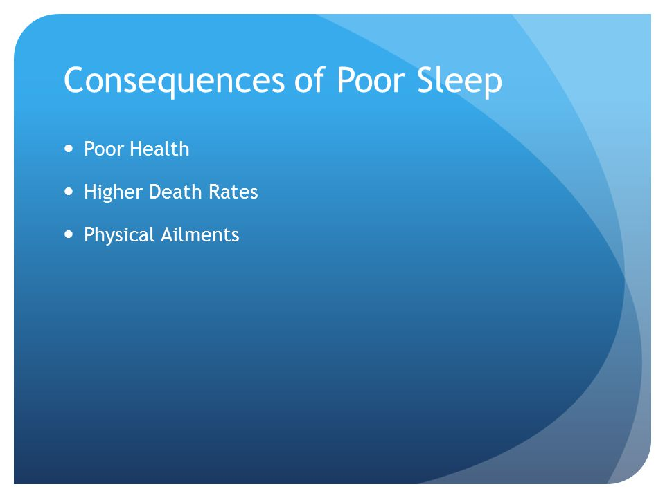 More Consequences of Poor Sleep Hormone and Metabolism Changes Sleep Debt Is Cumulative Sleep Deprivation and Driving Catastrophes Cost to Americans