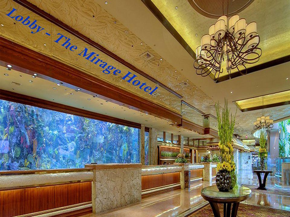 Lobby - The Mirage Hotel