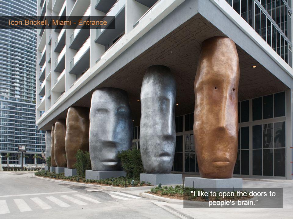 Icon Brickell, Miami - Entrance