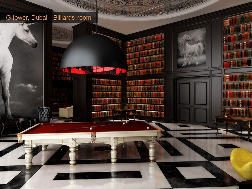 G tower, Dubai - Billiards room