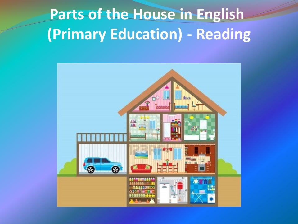 Parts of the House in English (Primary Education) - Reading