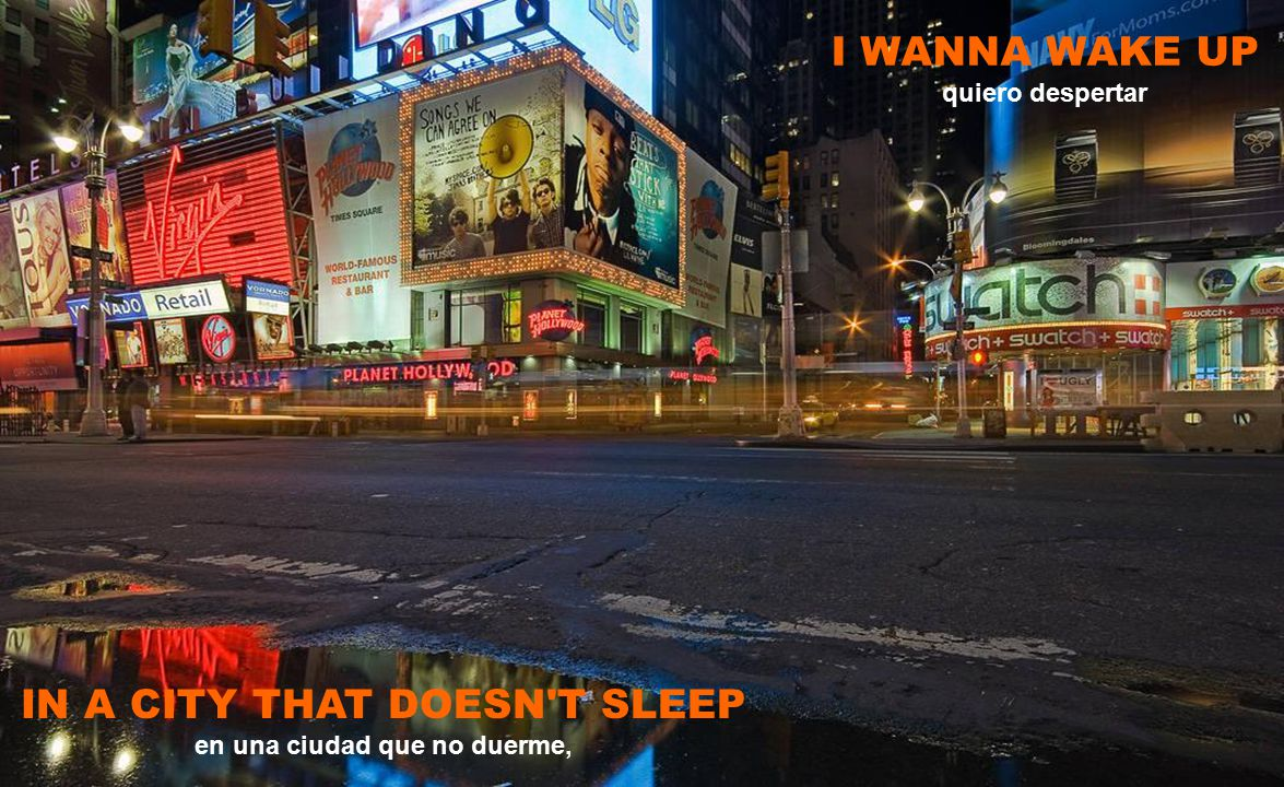 RIGHT THROUGH THE VERY HEART OF IT NEW YORK, NEW YORK justo por tu corazón,