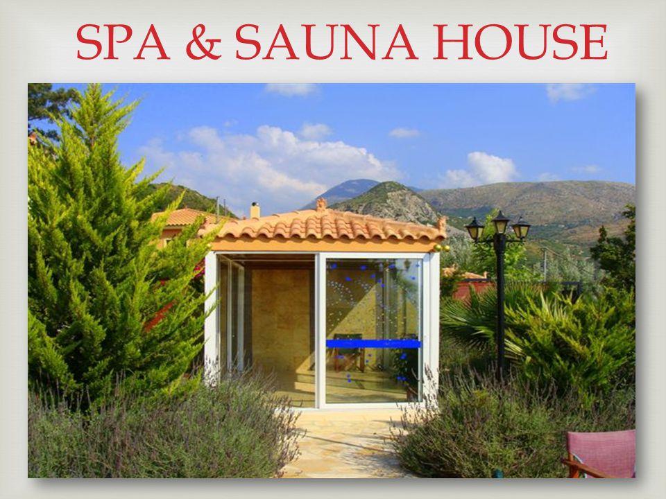  SPA & SAUNA HOUSE