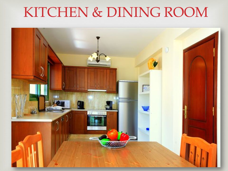  KITCHEN & DINING ROOM