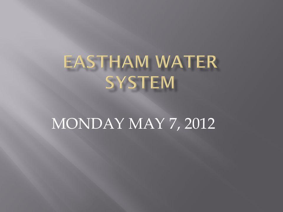 MONDAY MAY 7, 2012