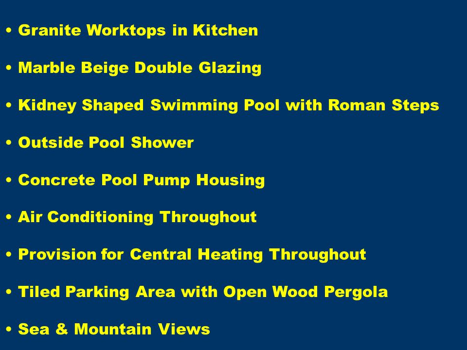 Granite Worktops in Kitchen Marble Beige Double Glazing Kidney Shaped Swimming Pool with Roman Steps Outside Pool Shower Concrete Pool Pump Housing Ai