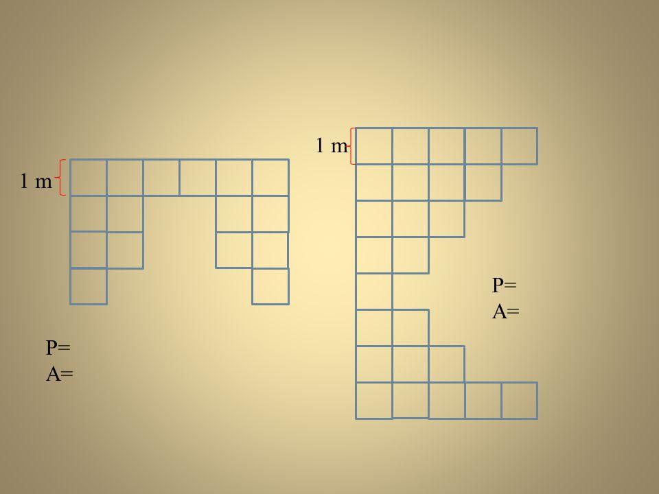 P= A= P= A= 1 m