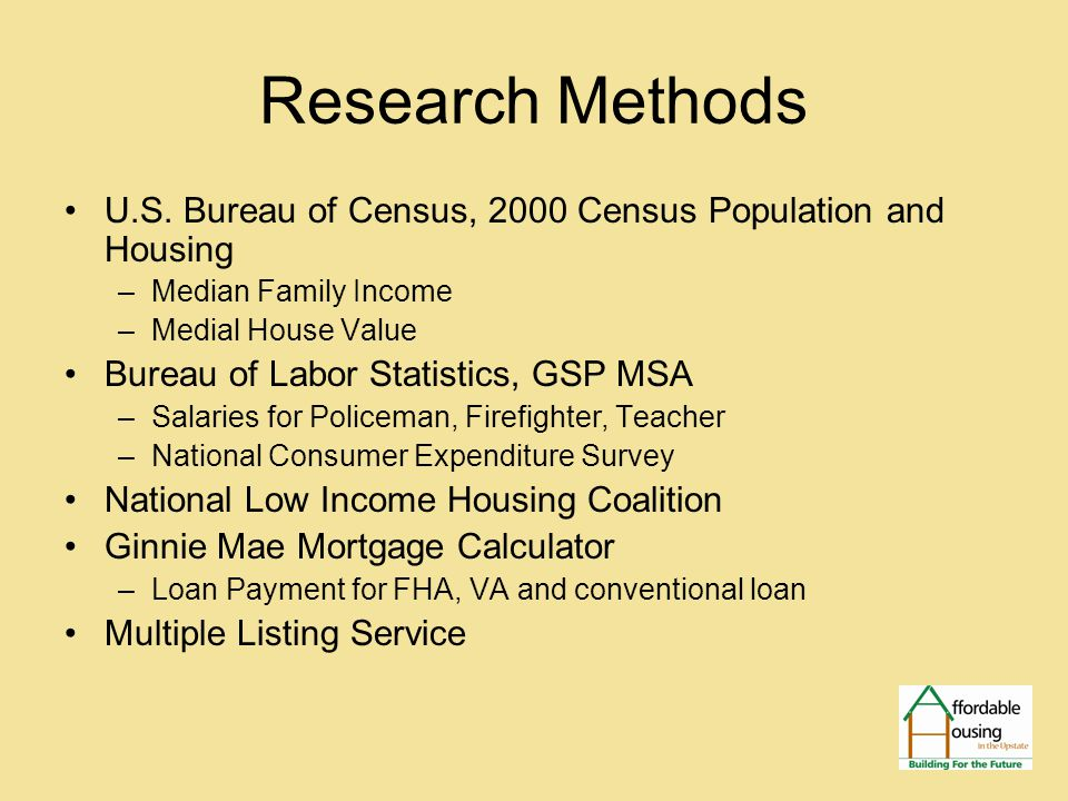Research Methods U.S.
