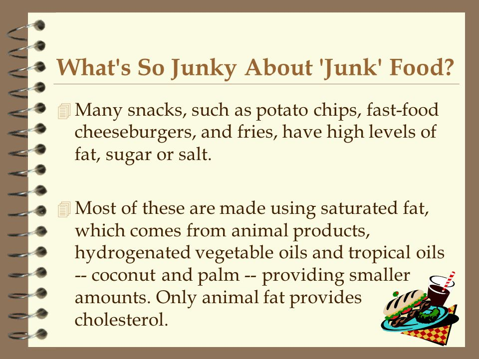 What s So Junky About Junk Food.