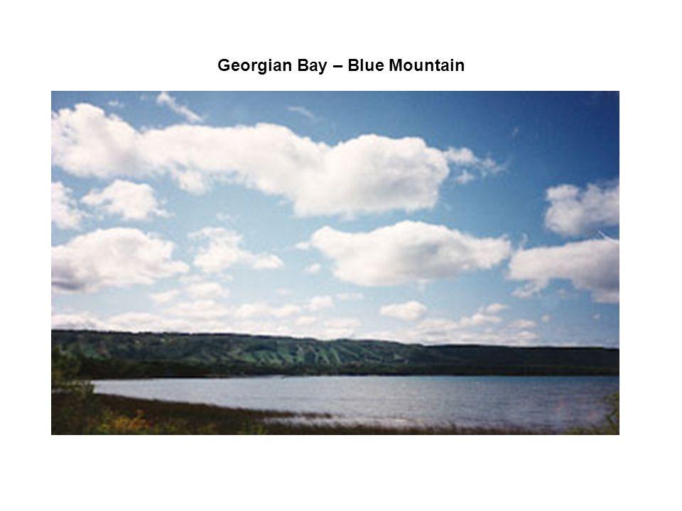 Georgian Bay – Blue Mountain