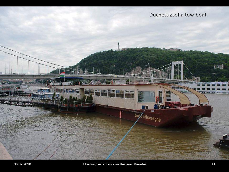08.07.2010.Floating restaurants on the river Danube10 Vogue - bar