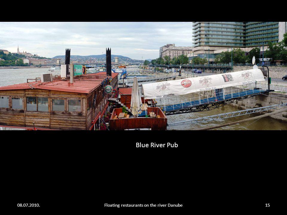 08.07.2010.Floating restaurants on the river Danube14 Zsófia upper deck