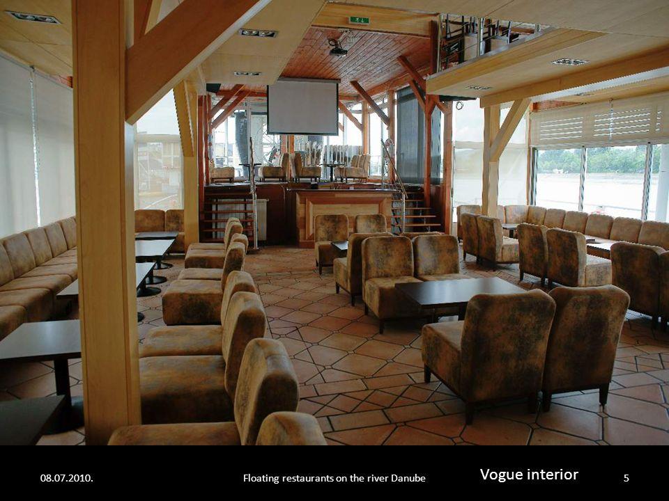 "08.07.2010.Floating restaurants on the river Danube4 ""Vogue ship"""