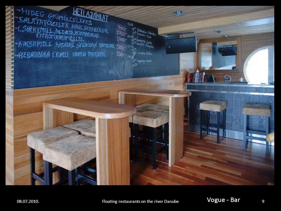 08.07.2010.Floating restaurants on the river Danube8 Vogue upper desk