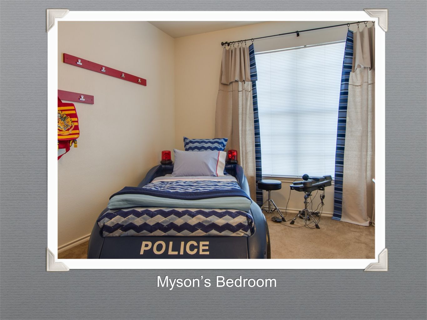 Myson's Bedroom