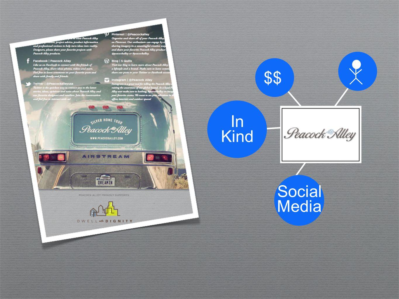 $$ In Kind Social Media