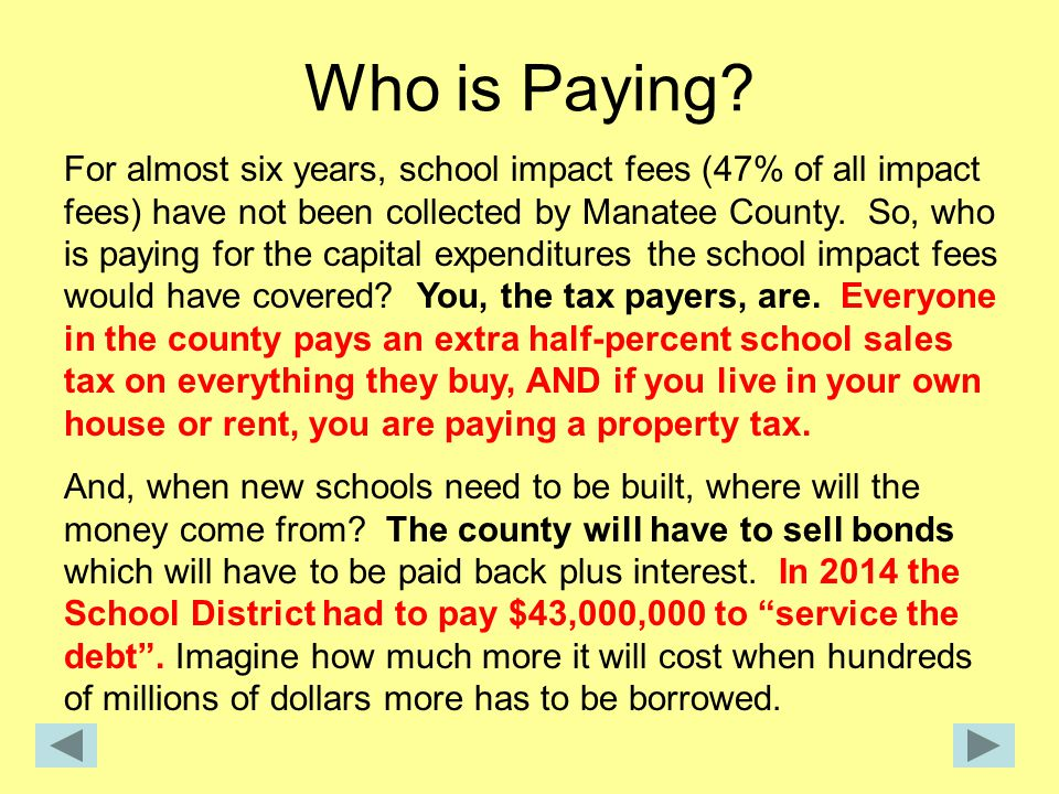 Who is Paying.