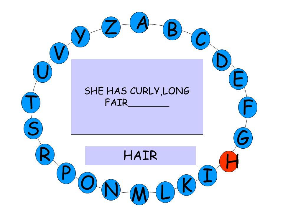 A K U V Y Z E D C B A T S G F R O N M H I L P G SHE IS GREEK. SH IS FROM________ GREECE