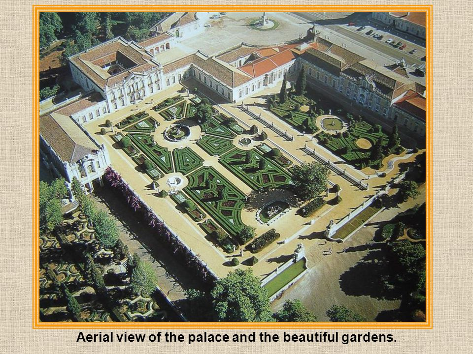 Queluz is a small city located about 15 km. from Lisbon.