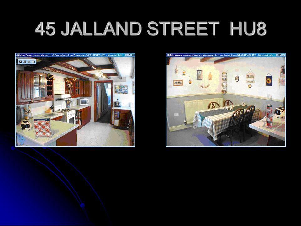 45 JALLAND STREET HU8