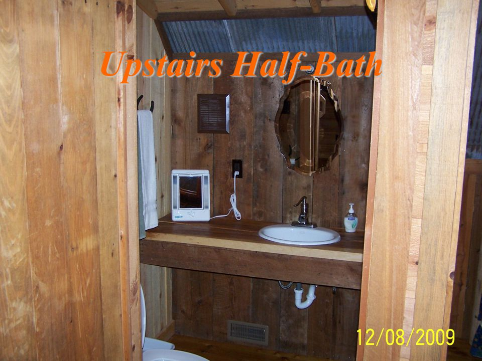 Upstairs Half-Bath