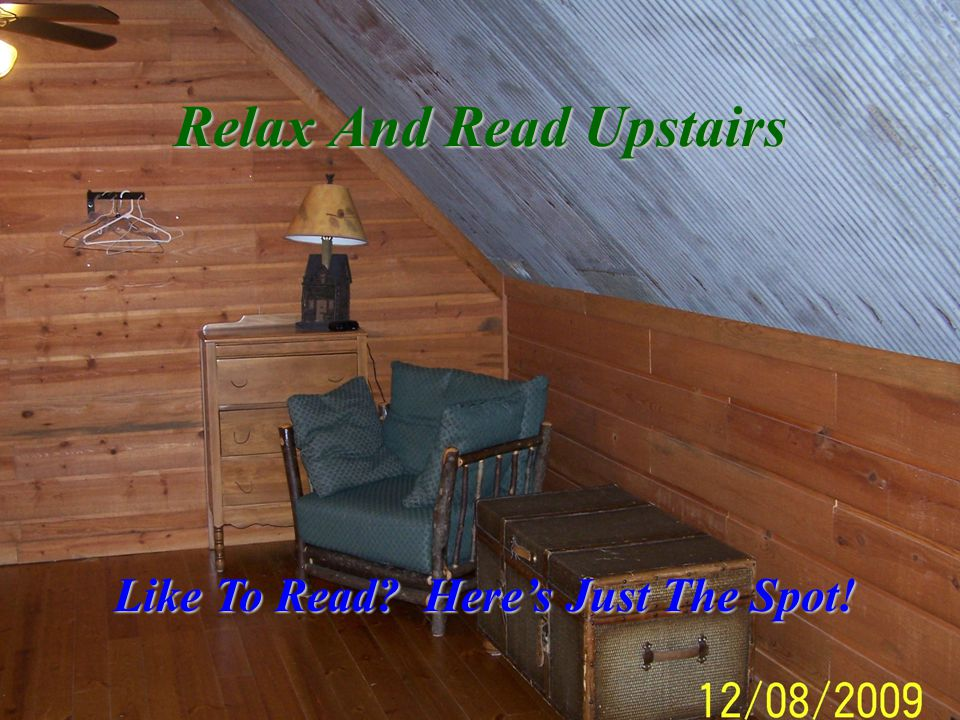 Relax And Read Upstairs Like To Read Here's Just The Spot!