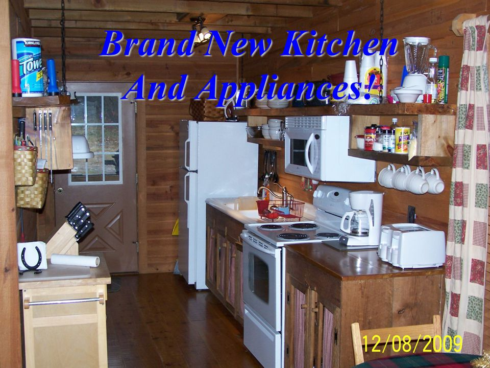 Brand New Kitchen And Appliances!