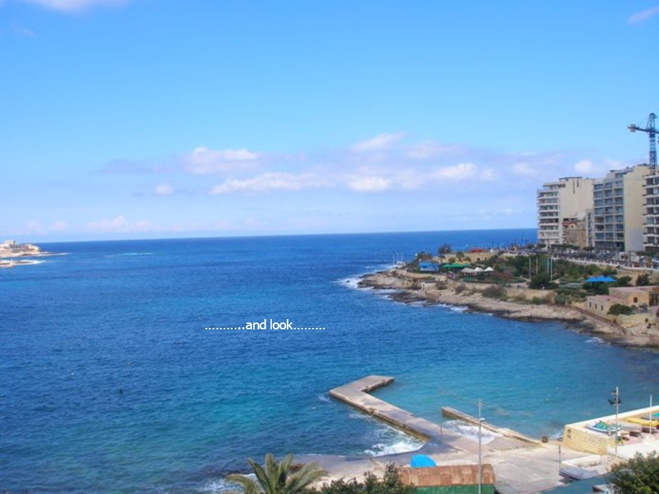 …..or do some sea fishing off the boat dock (no fishing license is required in Malta)…..