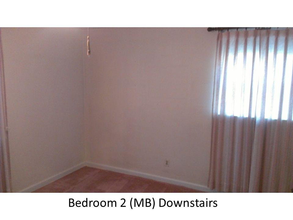 Bedroom 2 (MB) Downstairs
