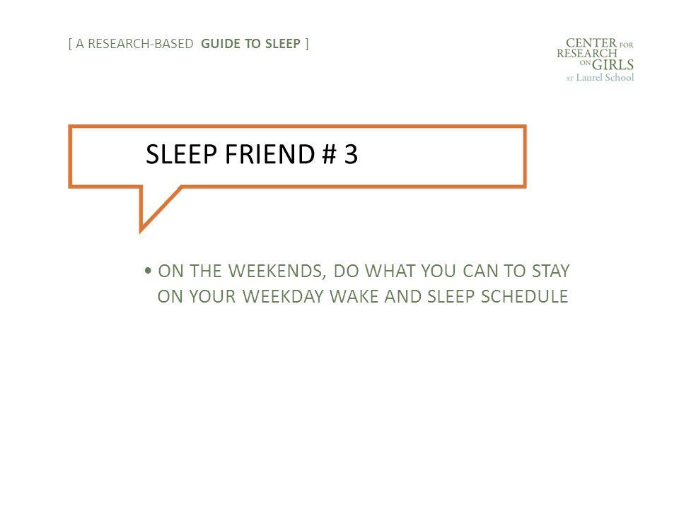 [ A RESEARCH-BASED GUIDE TO SLEEP ] SLEEP FOE # 4 CAFFEINE
