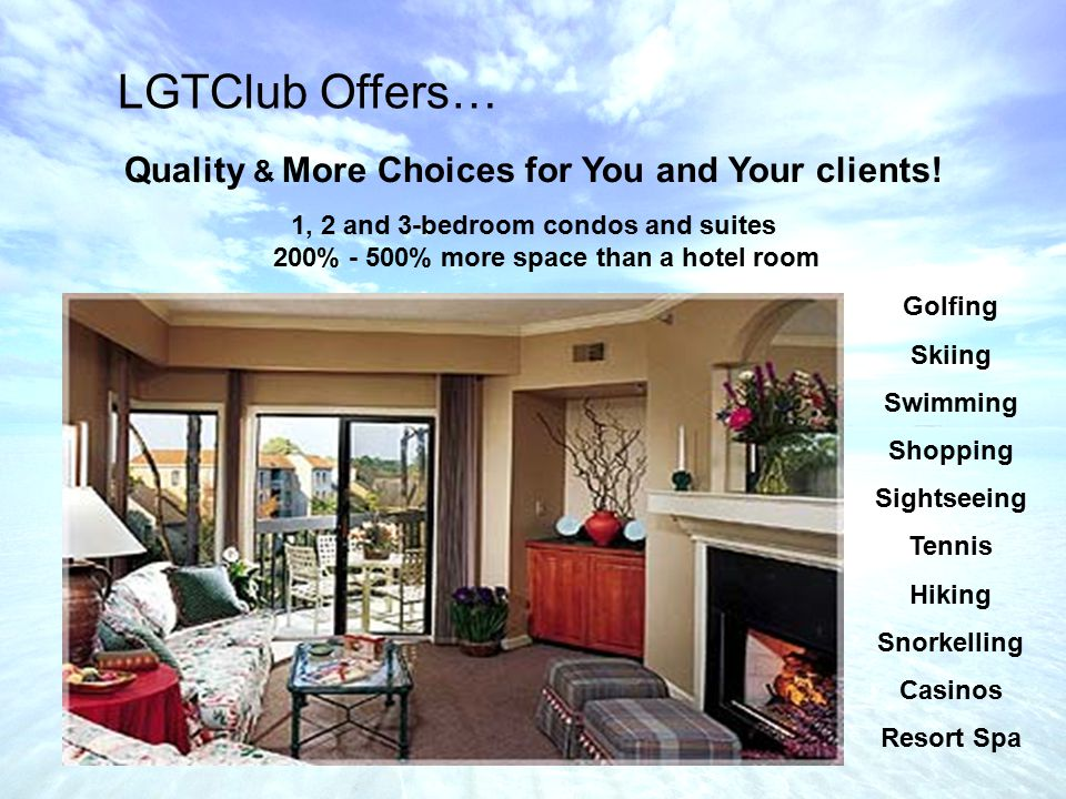 Quality & More Choices for You and Your clients.