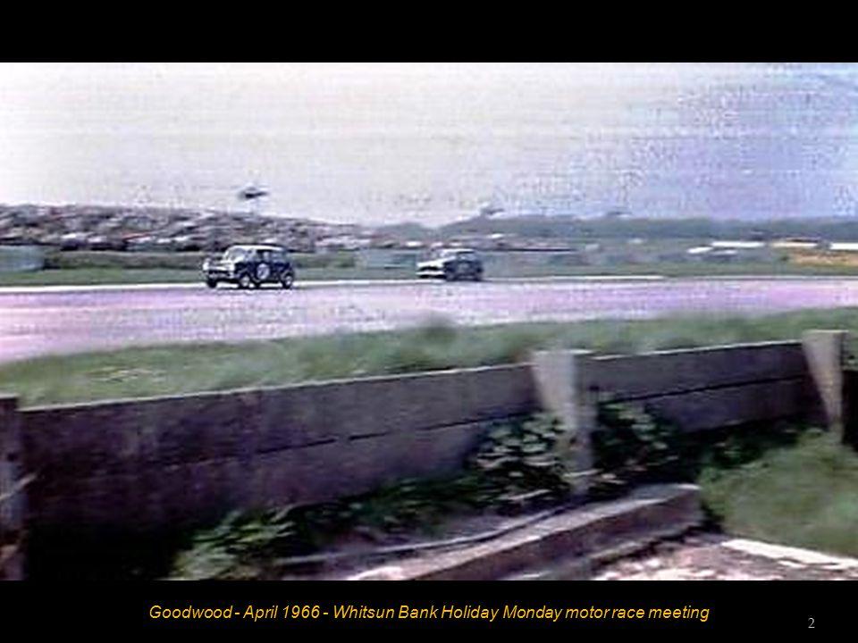 Goodwood - April 1966 - Whitsun Bank Holiday Monday motor race meeting 1