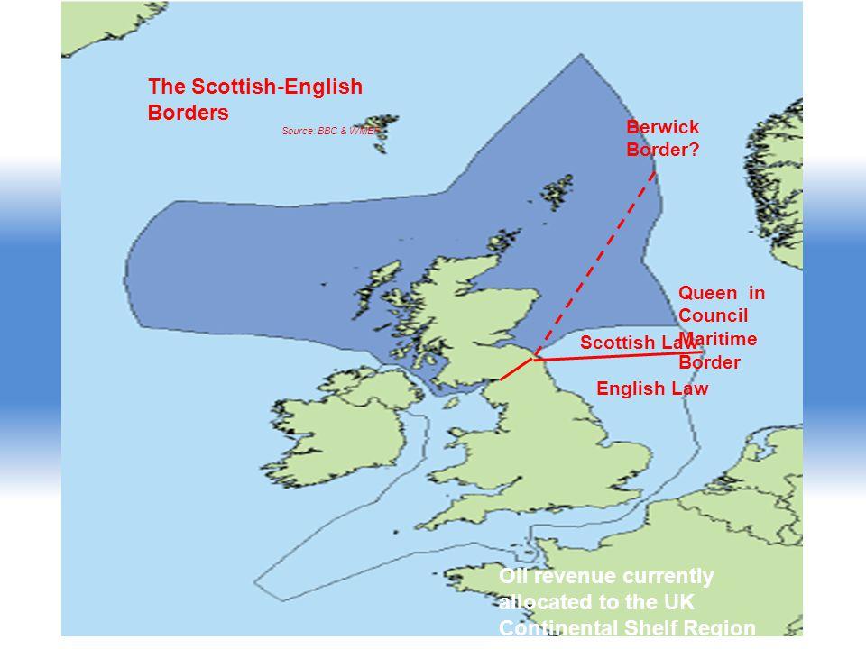 Queen in Council Maritime Border Scottish Law English Law Berwick Border.