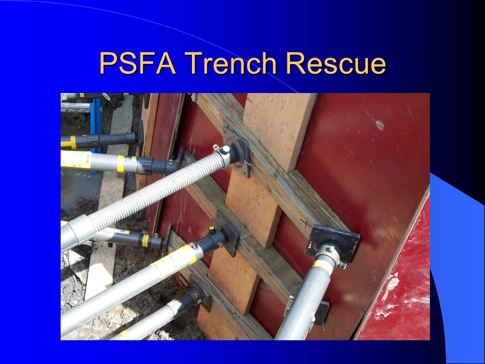 Making the Trench Safe Three ways to safe a trench: – 1.-Slope the angle of repose – 2.-Benching – 3.-Shoring/Shielding Sloping the angle of repose and benching require backhoes as well as additional manpower.