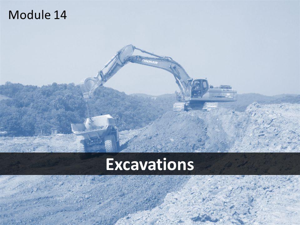 1 Excavations Module 14