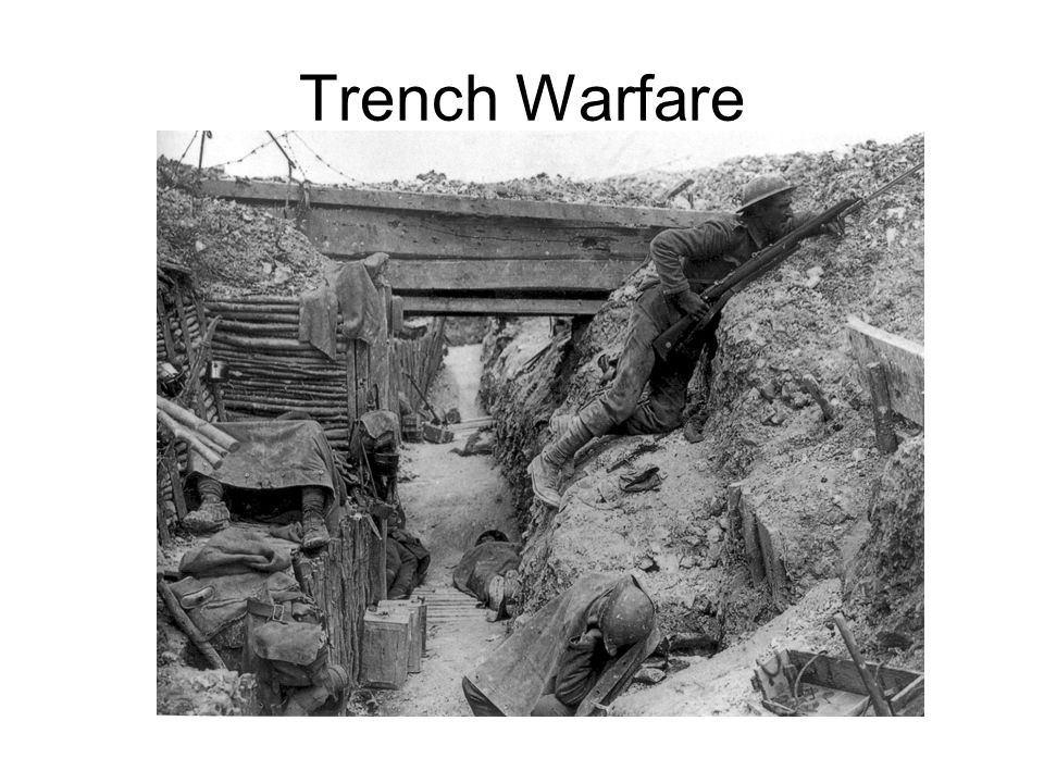 On your Left Side: As Ms. Barben goes over the design of the trenches, you are to: –Sketch out a diagram of how the trenches were set up and label the