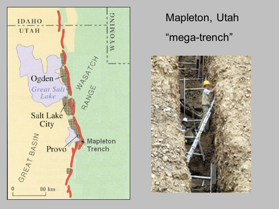 Mapleton, Utah mega-trench