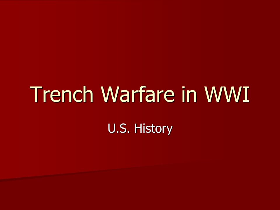 Artillery Artillery was an important weapon in WWI.