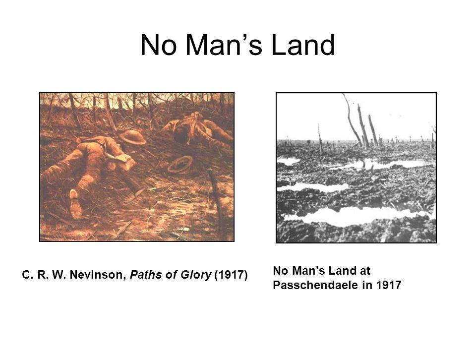 No Man's Land C. R. W. Nevinson, Paths of Glory (1917) No Man's Land at Passchendaele in 1917