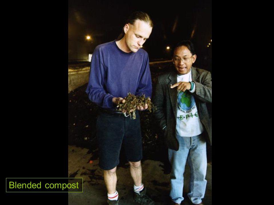 Blended compost