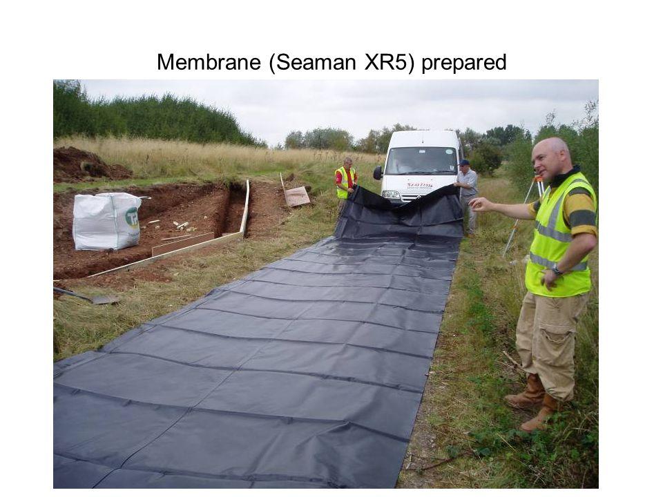 Membrane (Seaman XR5) prepared