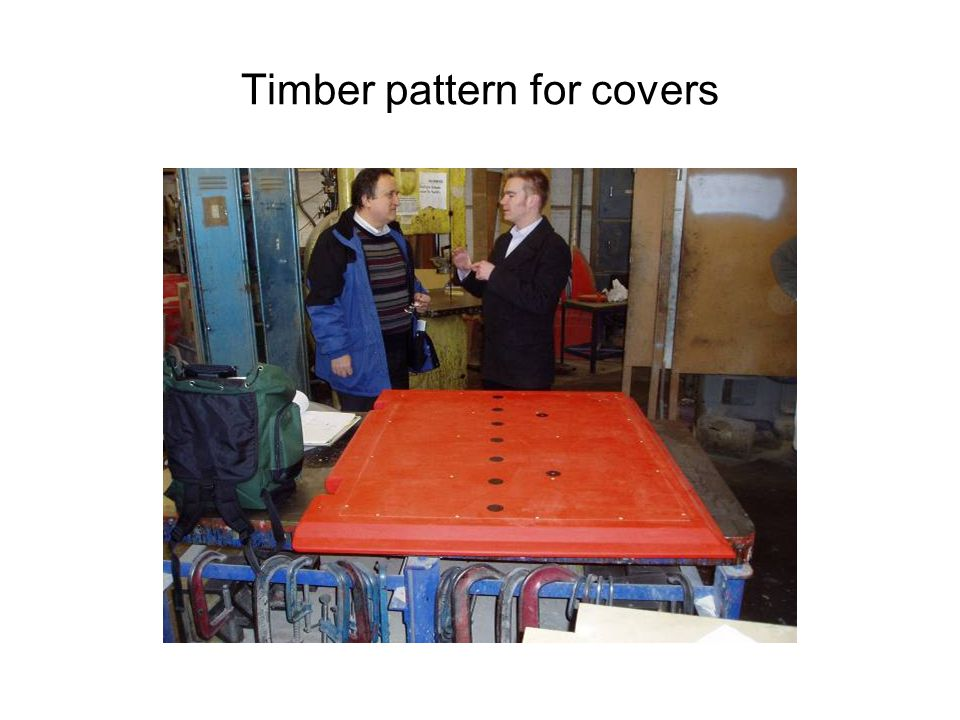 Timber pattern for covers