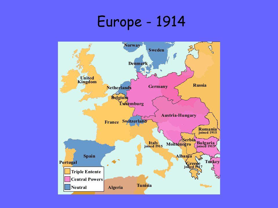 Europe - 1914