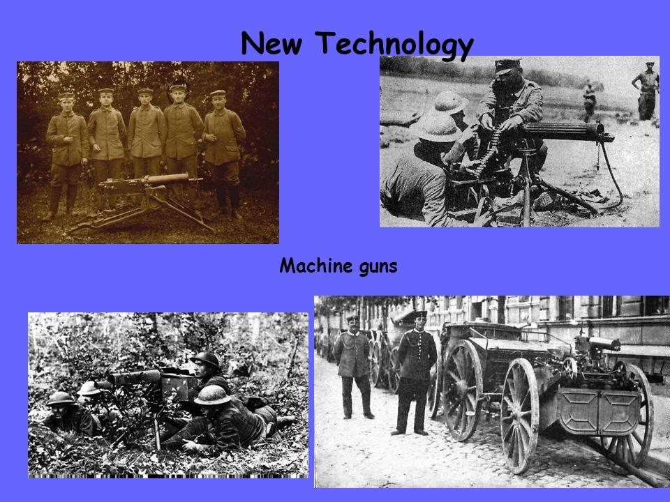 New Technology Machine guns