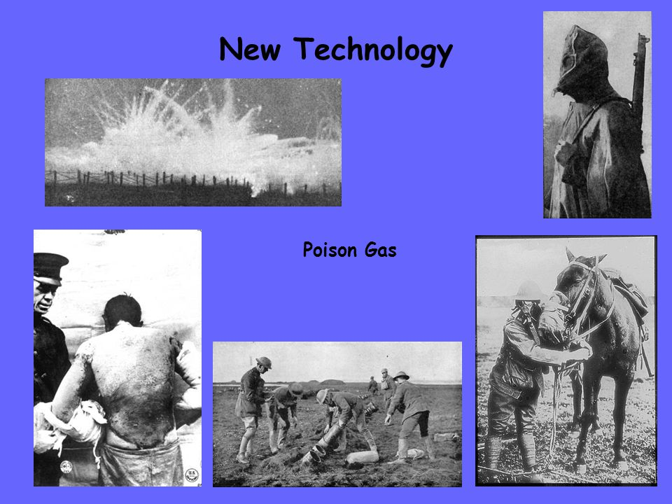 Poison Gas New Technology