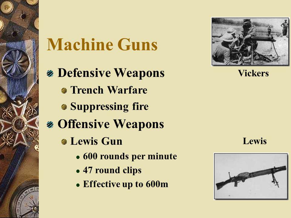 Advancements In War