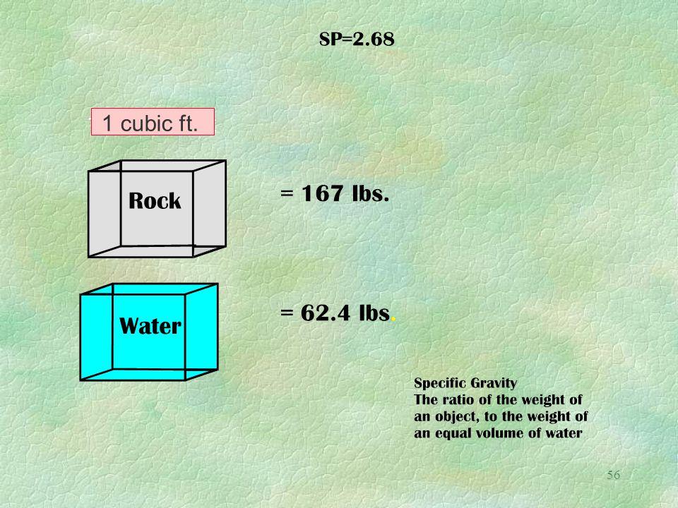 56 1 cubic ft.