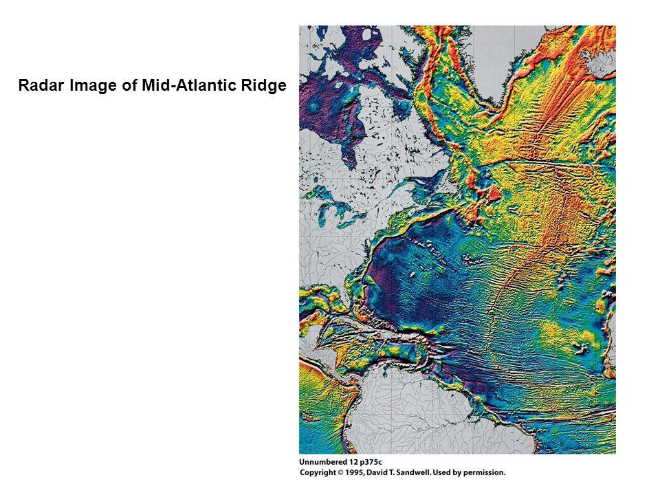 Radar Image of Mid-Atlantic Ridge
