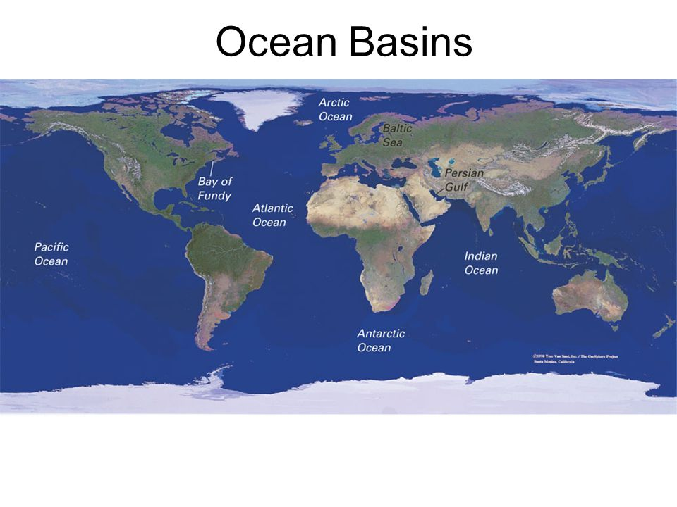 How old are the Earth's Oceans.